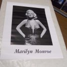 Vintage 1988 MARILYN MONROE B&W POSTER - 22 x 27 1/2 inches