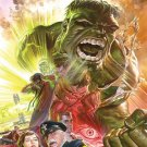 SAVAGE HULK 75th ANNIVERSARY POSTER by ALEX ROSS 24 x 36 inches FULL SIZE POSTER