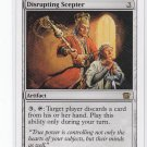 MTG Disrupting Scepter (8th Edition) very very lightly played / near mint card Rare