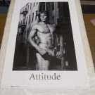 Vintage 1988 Contemporary Pin Up Sexy Shirtless Macho man POSTER (23 x 34 inches)