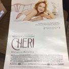 CHERI Movie POSTER 27x40 Michelle Pfeiffer Kathy Bates Rupert Friend Felicity DS
