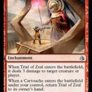 MTG Trial of Zeal (Amnkhet) near mint card Common
