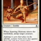 MTG Sparring Mummy (Amonkhet) near mint card Common