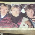 Vintage 1983 The Police Band Poster 23 x 35 inches NEVER PREVIOUSLY DISPLAYED