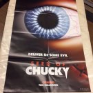 SEED OF CHUCKY Fold Out Magazine Poster  (2004)  Movie Memorabilia w/ Jennifer Tilly