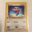 Pokemon Porygon (78/105) 1st edition Neo Destiny near mint card Common