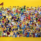 Vintage THE SIMPSONS VINTAGE CHARACTER COLLAGE POSTER 16 x 24 inches (2000)