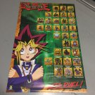 Yugioh Character Collage Let's Duel Anime Manga Original Poster 23 x 35 inches