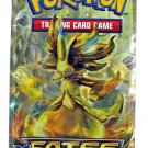 Pokemon Fates Collide Booster Pack (10 additional cards) Factory Sealed Never Opened