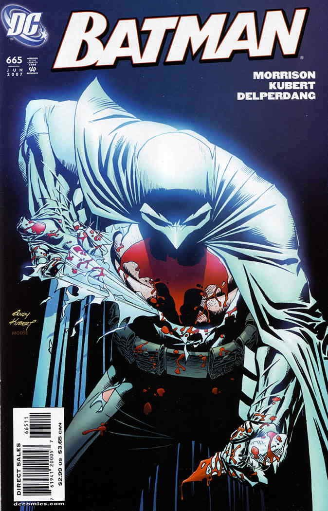 Batman #665 (2007) near mint condition comic