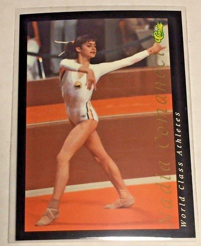 1992 Classic World Classic Nadia Comaneci (#27) near mint card