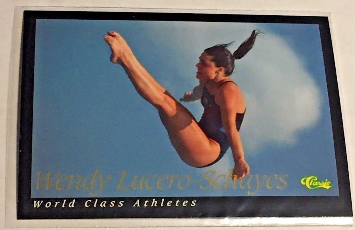 1992 Classic World Classic Wendy Lucero-Schayes (#12) near mint card or better