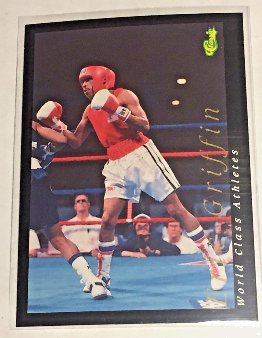 1992 Classic World Classic Eric Griffin (#43) near mint card or better