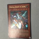 Yugioh Mystical Knight of Jackal (PGD-069) unlimited edition near mint card or better.