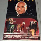 Vintage Poster 1992 Star Trek The Next Generation Jean-Luc Picard 24 x 36 inches