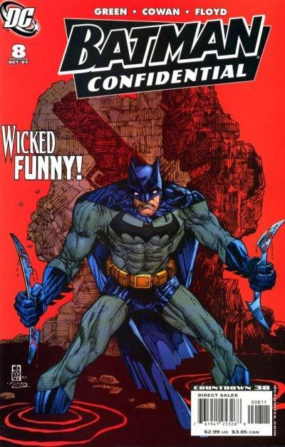 Batman Confidential #8 near mint condition comic (2007)