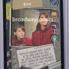 X-Files CCG Collectible Card Game Eve (XF96-0154) near mint condition card