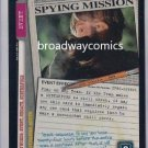 X-Files CCG Spying Mission (XF96-0266) Uncommon near mint condition card