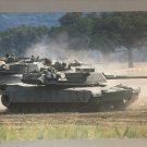 Vintage 1988 M1 Abrams Tank Poster (24 x 36 inches) never previously displayed