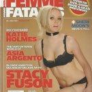 Femme Fatales Stacy Fuson Katie Holmes Asia Argento Sheri Moon Christian Bale