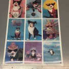 Vintage 1987 Funny Cat Poster 23x34 Cat Crier never previously displayed
