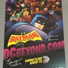 Batman: The Brave and the Bold Promotional  poster for DCBeyond.com SIGNED