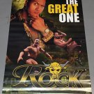Vintage 2000 The Rock The Great One Poster (Dwayne Johnson) 22 x 34 in WWE WWF