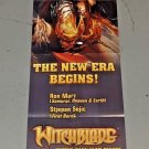 VINTAGE 2007 WITCHBLADE Promo POSTER 12 x 36 inches art by Ron Marz
