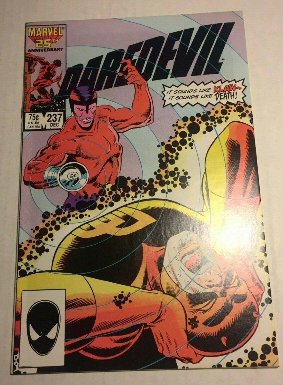 Daredevil #237 (1986) near mint condition comic