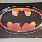 Vintage 1989 BATMAN Movie Poster (MOVIE VERSION) of Logo Batsignal