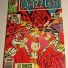 Dazzler #4 (1981) very fine condition comic or better (sh1) Newsstand Edition