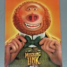 Missing Link Movie Poster Print (2019) 11 x 17 inches (double-sided)
