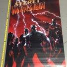 Secret Invasion #1 poster (24 x 36) Full Size Poster Skrulls are Everywhere