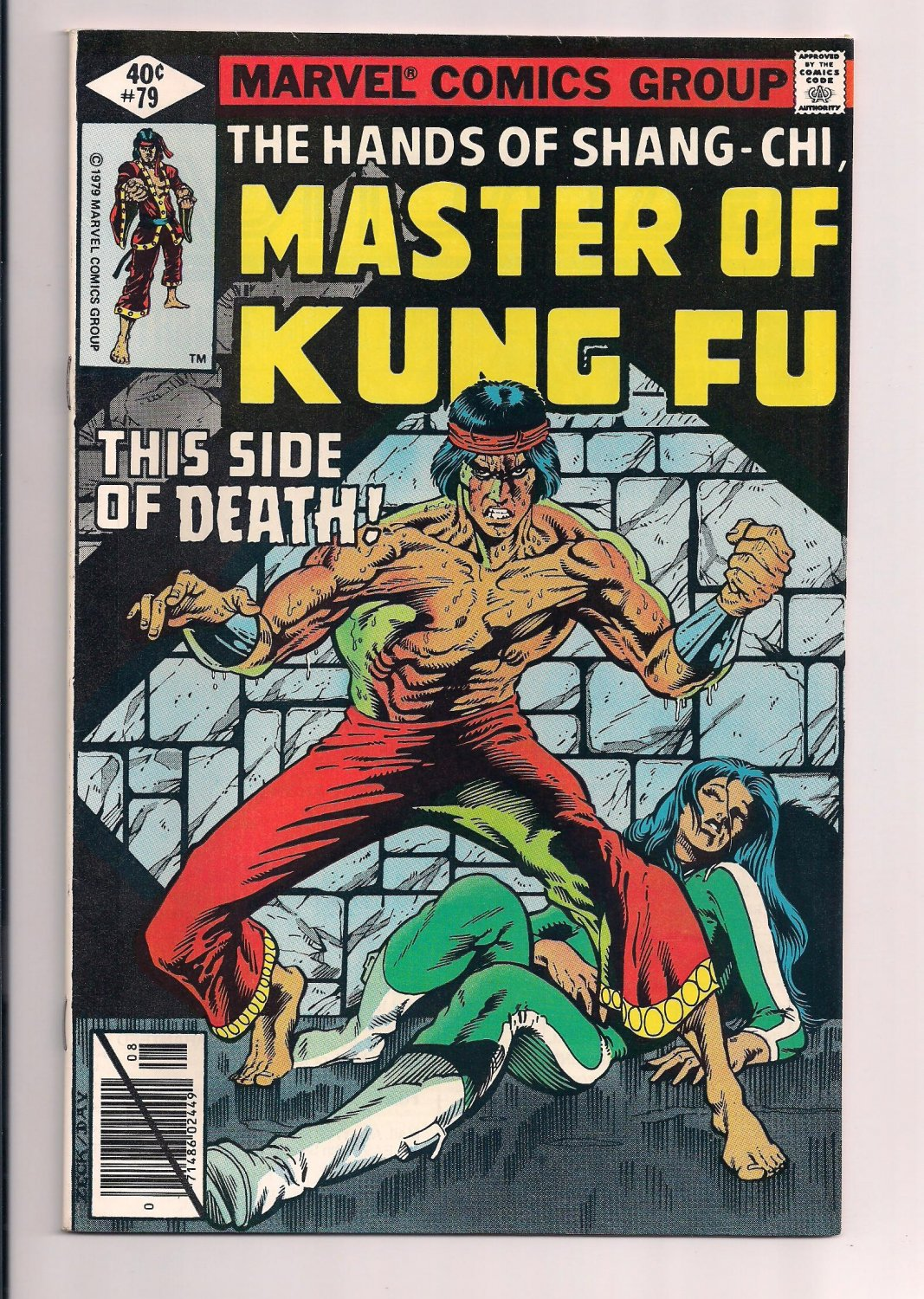 Shang-Chi, Master of Kung Fu #79 (1979) very fine / near mint condition comic