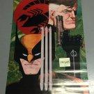 """1989 Nick Fury & Wolverine Poster 22"""" x 34"""" art by HOWARD CHAYKIN Unused"""