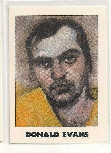 #166 Donald Evans True Crime Trading Cards Series II (1992)