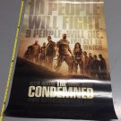 The Condemned Movie Poster 27x40 FREE SHIPPING (p1) Steve Austin d/s double-sided