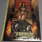 2000 Witchblade Convention Poster Unused 24 x 36 inches