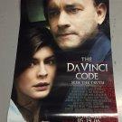Da Vinci Code Movie Poster 27 x 40 w/ Tom Hanks FREE SHIPPING  (p1)