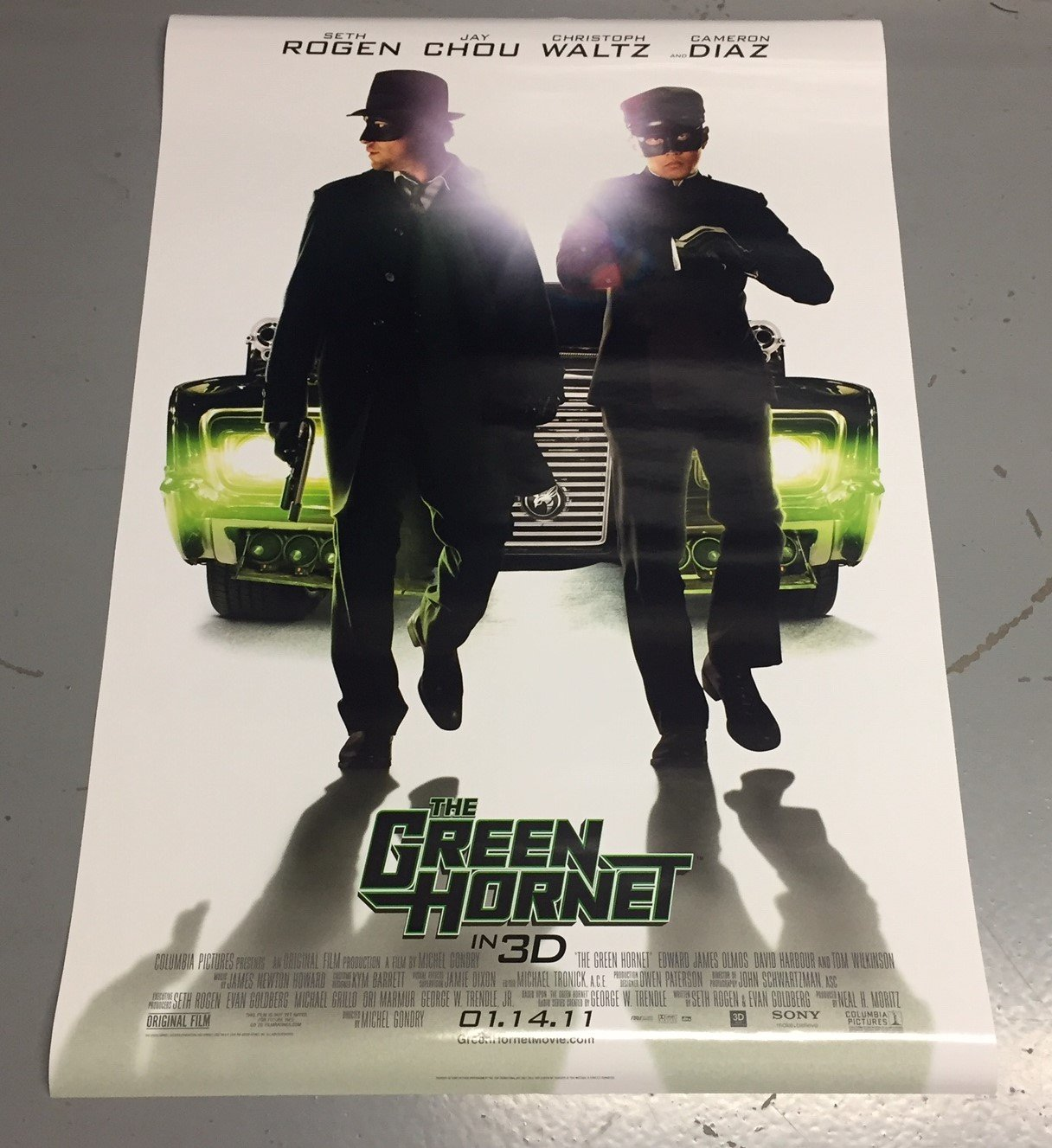 The Green Hornet Movie Poster 27x40 Free shipping (p3 ...