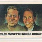 #36 Paul Monette / Roger Horwitz   1993 AIDS Awareness Trading Card (Eclipse Enterprises)