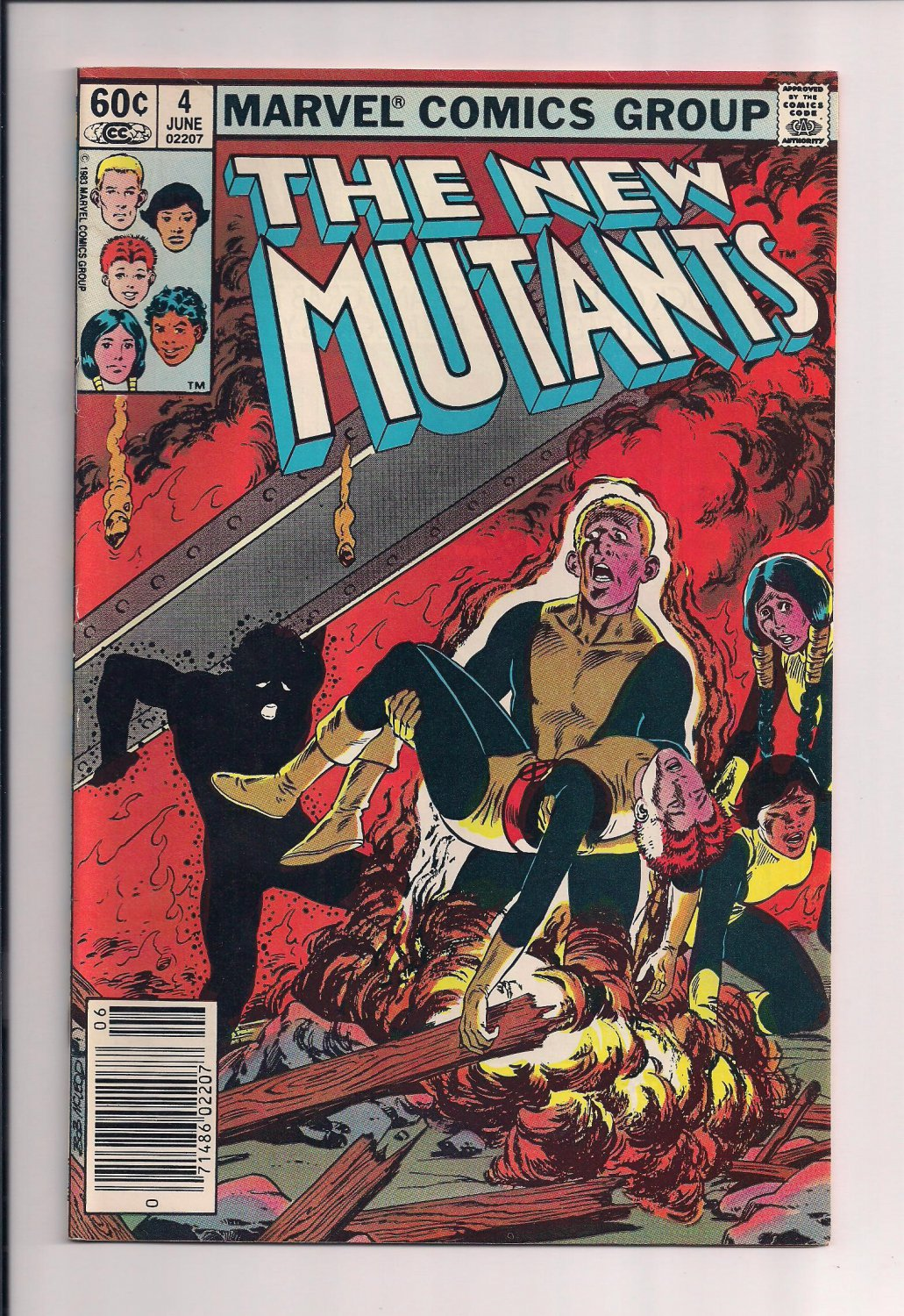 New Mutants #4 (1983) very fine condition or better.  (st7)