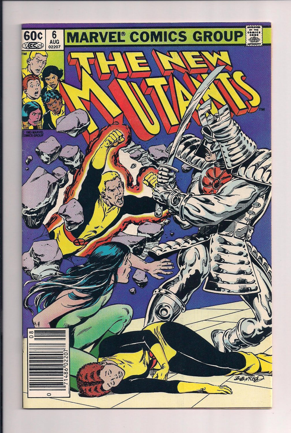 New Mutants #6 (1983) very fine condition or better.  (st7)