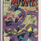 New Mutants #76 (1989) vf / near mint condition comic (ga6)
