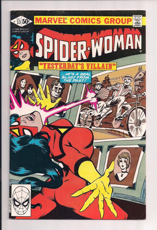 Spider-Woman #33  (1980) Spiderwoman very fine condition comic or better (ga6)