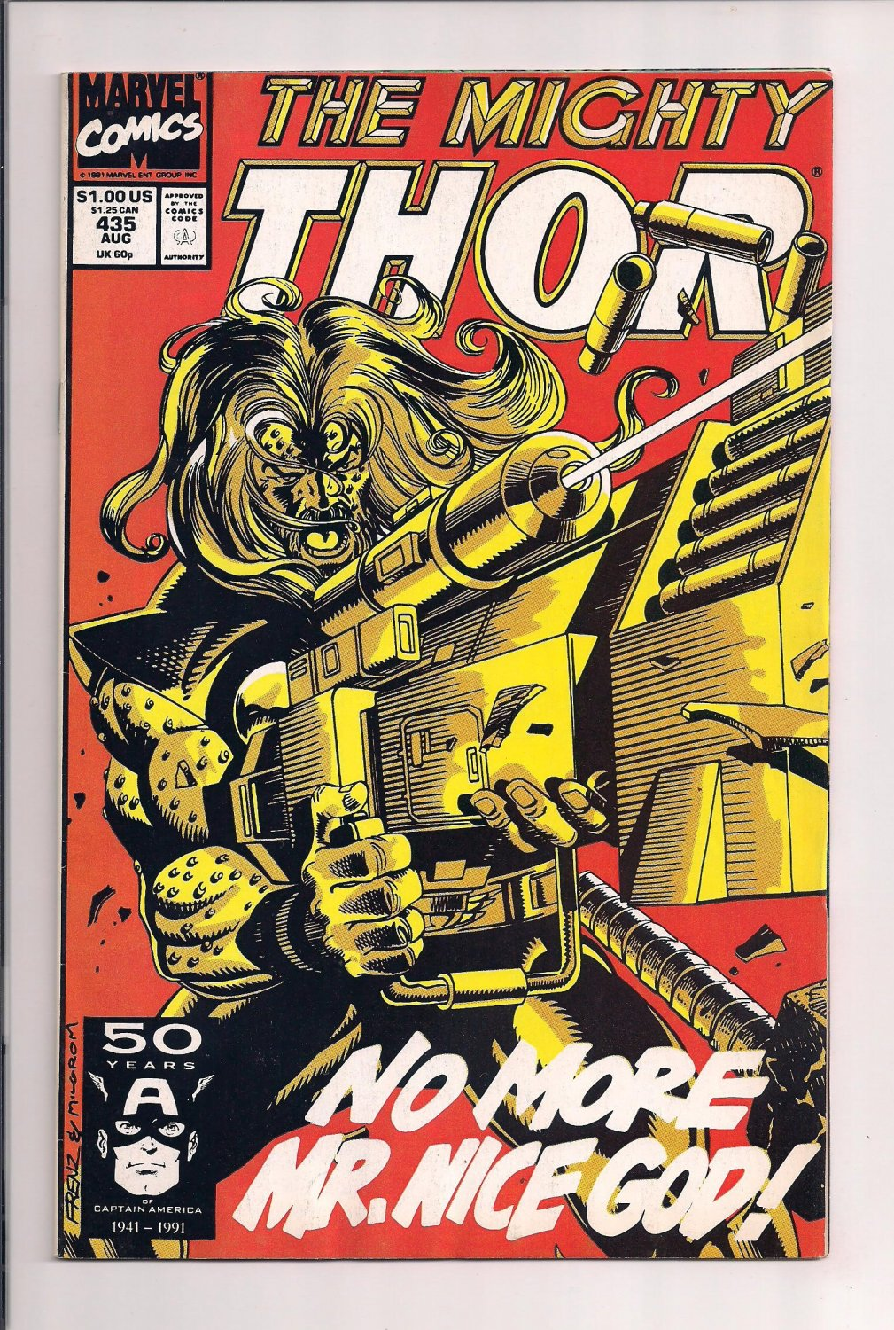 Thor #435 (1991) very fine condition comic or better sh3