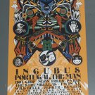 Incubus concert poster - 2019 - Sacramento CA 11x17 Unused CITY OF TREES FREE SHIPPING