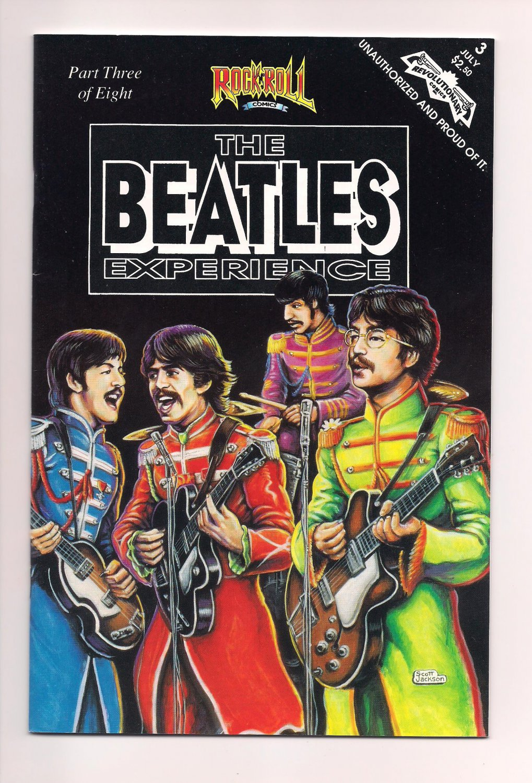 Rock 'N' Roll Comics #3 Beatles (1991) Revolutionary Comics vf or better sh2
