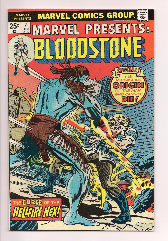 Marvel Presents #2 BLOODSTONE (1975) very fine / near mint condition comic sh2