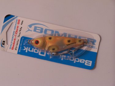 Bomber Badonk A Donk SS Suspending 2.5in Kandy Orange Flash Saltwater lure B038